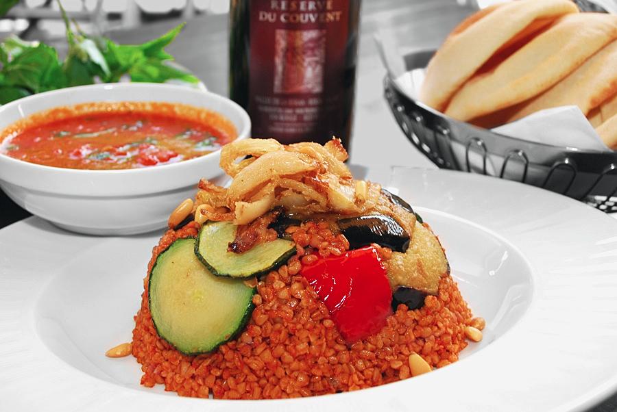 Qadmous - Couscous vegan