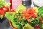 Qadmous - Tabbule Salat - Frisch zubereiteter Persiliensalat