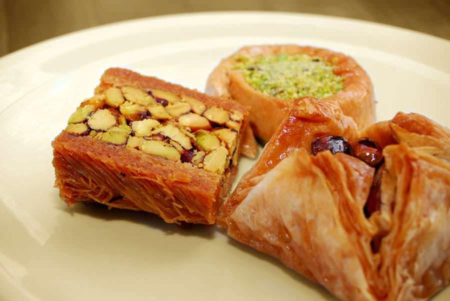 Shisha Loung - Baklava - Desserts