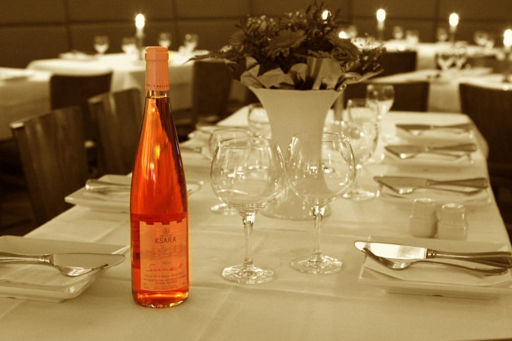 Qadmous - Ksara Libanesischer Wein - Sunset Rosu00e9