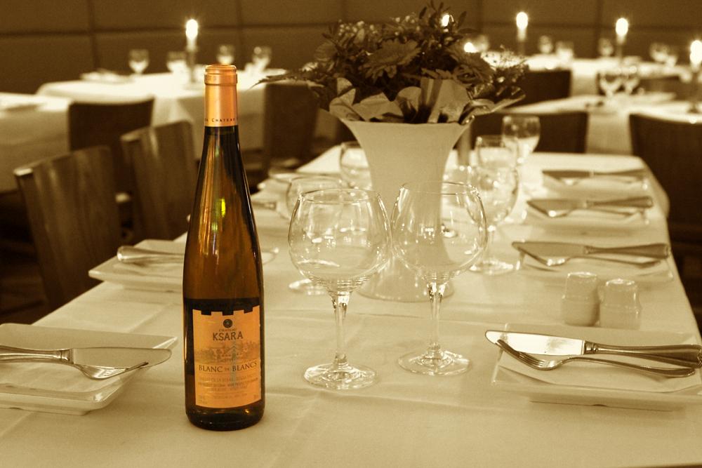 Qadmous - Ksara Libanesischer Wein - Blanc de Blancs