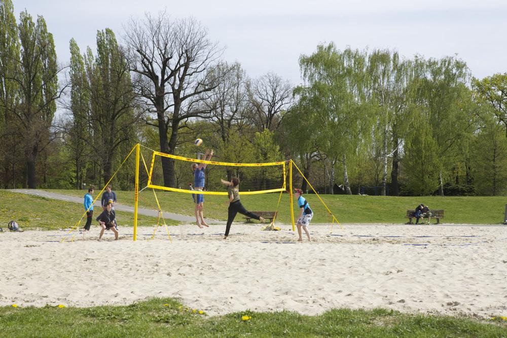 Volkspark Friedrichshain - Beachvolleyballplatz