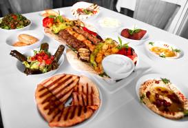 Grillteller für 2 Personen - Mezze Libanesisch - Berlin Mitte - Qadmous
