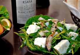 Libanesisches Restaurant Berlin Mitte | Qadmous | Küche - Jane Bayda Salat