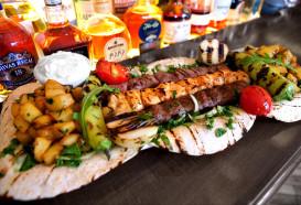 Fleischplatte Berlin Mitte | Libanesisches Restaurant Qadmous | Cocktailbar