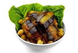 Moussaka Batinjan | Auberginenwürfel | Libanesische Küche Berlin | Qadmous