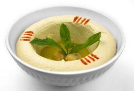 Hummus Bil Tahini | Pürierte Kichererbsen | Libanesische Küche Berlin | Qadmous