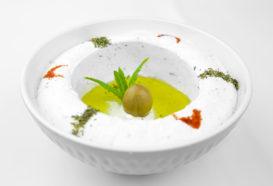Labneh | Frischkäse mit Olivenöl | Libanesische Küche Berlin | Qadmous