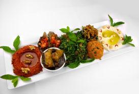 Mezze Teller Kalt | Libanesische Küche Berlin | Qadmous