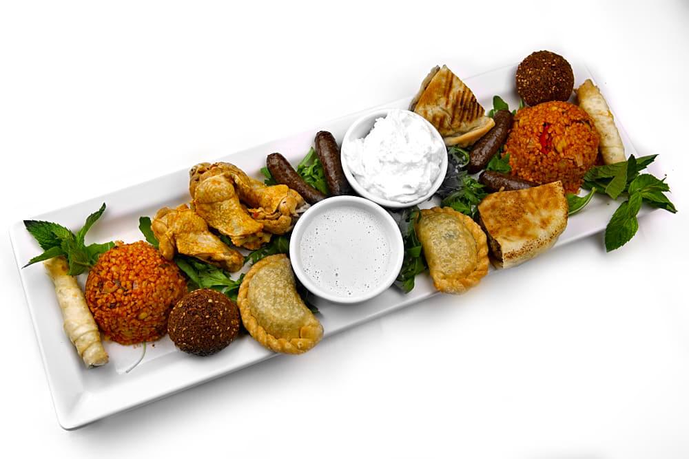 Mezze Teller Warm | Für 2 Personen | Libanesische Küche Berlin