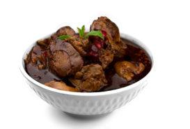 Sawdit Dajaj | Hühnerleber in Granatapfelsauce | Libanesische Küche Berlin | Qadmous