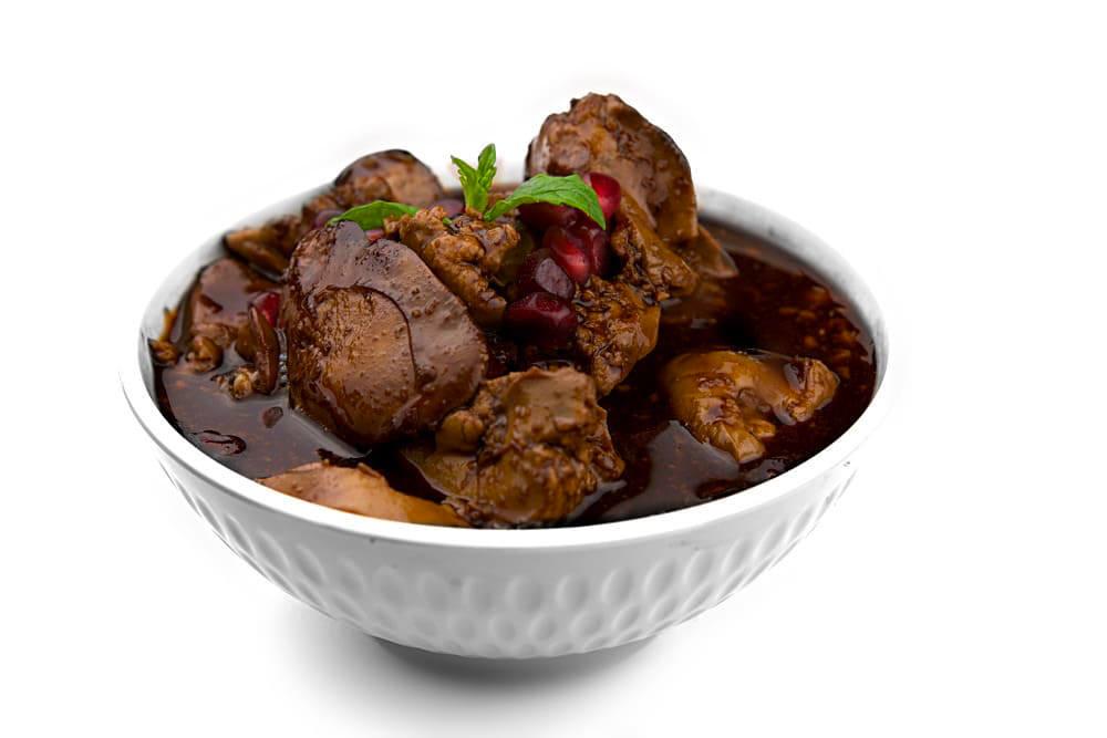 Sawdit Dajaj | Hähnchenleber in Granatapfelsauce | Libanesische Küche-berlin