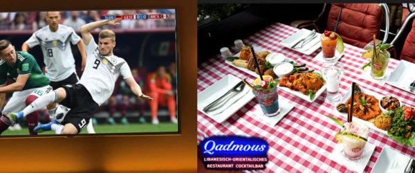 WM 2018 Deutschland | Libanesische Küche Berlin | Qadmous | Public Viewing