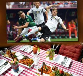 WM 2018 Fußball | Public Viewing | Terrasse | Libanesisches Restaurant Berlin