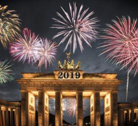 Brandenburger Tor | Silvester 2018 2019 | Restaurant Qadmous